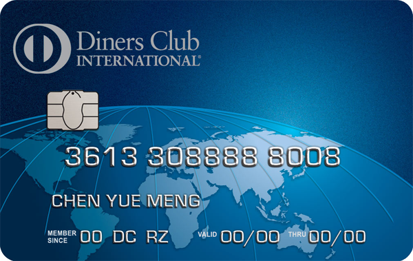 Diners Club International Credit Card