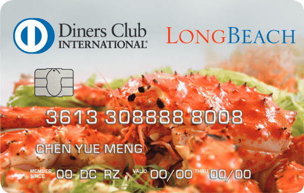 Diners Club/Long Beach Credit Card