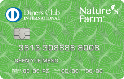 Diners Club/Nature's Farm Credit Card